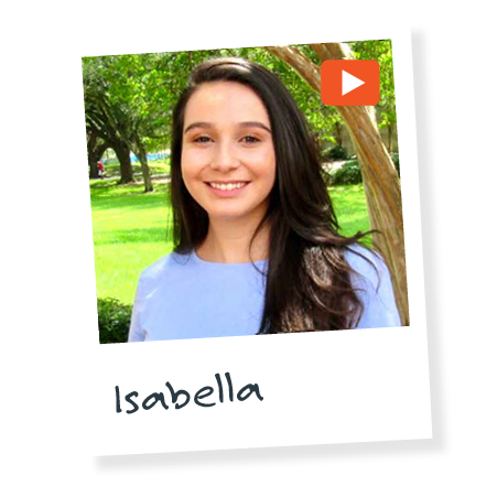 Isabella's internship experience video