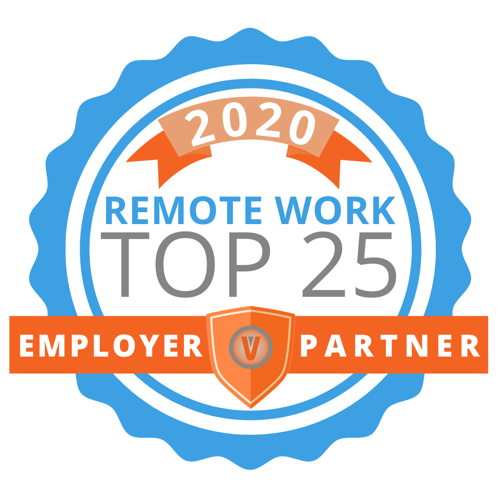 Virtual Vocations award logo for top 25 Work From Home Jobs